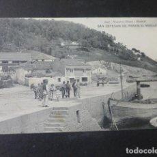 Postales: SAN ESTEBAN DE PRAVIA ASTURIAS EL MUELLE. Lote 203765316