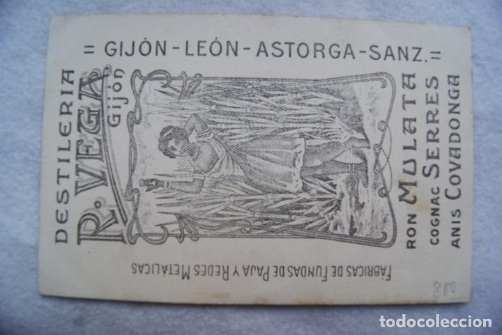 Postales: POSTAL DESTILERIAS R. VEGA GIJON ASTURIAS LEON ASTORGA ANIS COVADONGA PUBLICIDAD - Foto 2 - 204072558