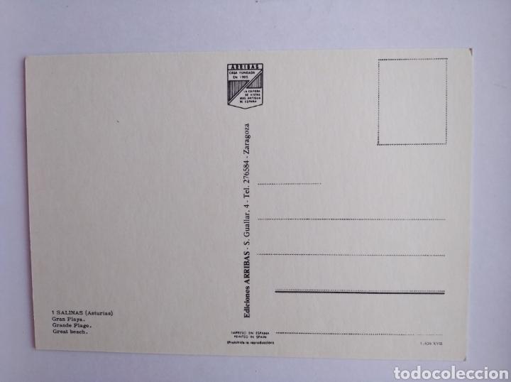 Postales: Postal 1 Salinas Asturias gran playa ed arribas - Foto 2 - 205271733