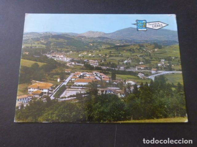 LIERES ASTURIAS VISTA GENERAL (Postales - España - Asturias Moderna (desde 1.940))