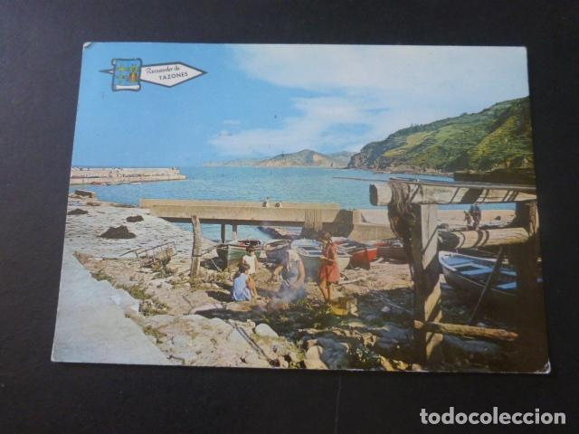 TAZONES ASTURIAS PUERTO (Postales - España - Asturias Moderna (desde 1.940))