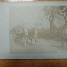 Postales: POSTAL FOTOGRAFICA, ASTURIAS- GIJON - FOTO ARTURO TRUAN - CARRO BUEYES... Lote 205680553