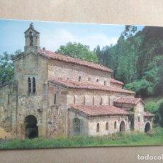 Postales: POSTAL VILLAVICIOSA, ASTURIAS, BASILICA DE SAN SALVADOR DE VALDEDIOS, EL CONVENTIN. Lote 205843725