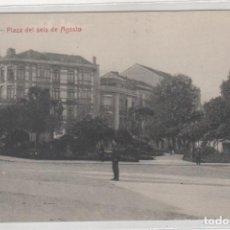 Cartoline: GIJON PLAZA DEL SEIS DE AGOSTO. EDITOR MATOS. SIN CIRCULAR.. Lote 206990110