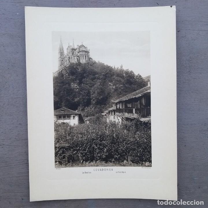 GRAN FOTOGRAFIA/FOTOTIPIA IMPRESA COVADONGA FOTO OTTO WUNDERLICH (Postales - España - Asturias Antigua (hasta 1.939))