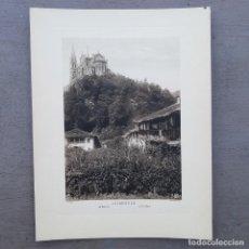 Postales: GRAN FOTOGRAFIA/FOTOTIPIA IMPRESA COVADONGA FOTO OTTO WUNDERLICH. Lote 208184263