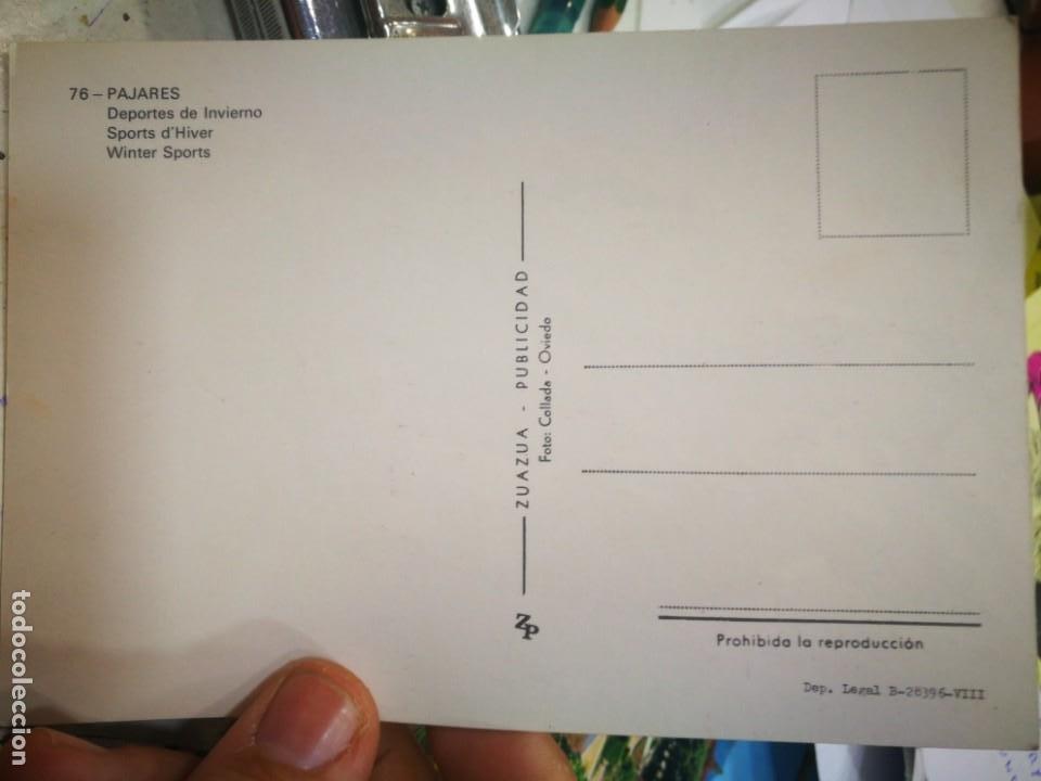 Postales: Postal Pajares Deportes de Invierno N 76 ZUAZUA S/C - Foto 2 - 210408100