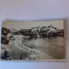 Postales: LLANES ASTURIAS EDICIONES ARRIBAS PLAYA PUERTO CHICO 1957 NÚMERO 32. Lote 210432803