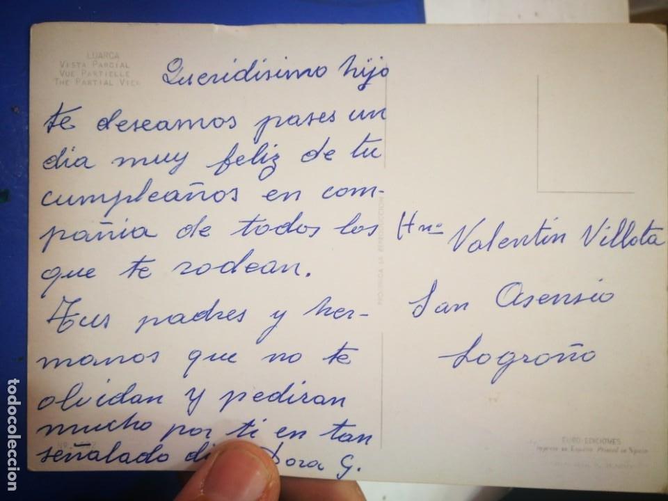 Postales: Postal Luarca Asturias Vista parcial EURO EDICIONES escrita - Foto 2 - 210454102