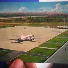 Postales: POSTAL AEROPUERTO DE ASTURIAS N 297 ALCE 1969 ESCRITA. Lote 210454791