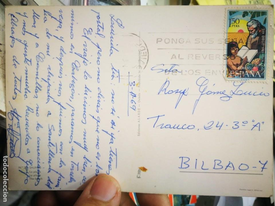 Postales: Postal Salinas La Playa N 28 ALARDE 1969 escrita y bellamente sellada - Foto 2 - 210464176