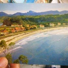 Postales: POSTAL RIBADESELLA PLAYA SANTA MARINA N 11 GARCÍA GARRABELLA 1966 ESCRITA. Lote 210477273