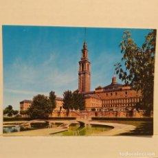 Postales: GIJÓN, UNIVERSIDAD LABORAL, VISTA PARCIAL Y PISCINAS, Nº 1. Lote 210539332