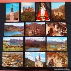 Postales: 18 POSTALES COVADONGA AÑOS 60-70. Lote 211803113