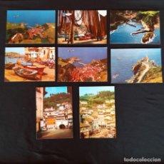 Postales: 8 POSTALES CUDILLERO AÑOS 60- 70. Lote 211803663