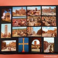 Postales: 15 POSTALES OVIEDO AÑOS 60-70. Lote 211815761