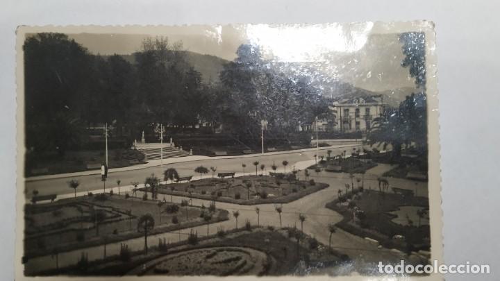 POSTAL FOTOGRÁFICA GRADO . PARQUE SAN ANTONIO (Postales - España - Asturias Moderna (desde 1.940))