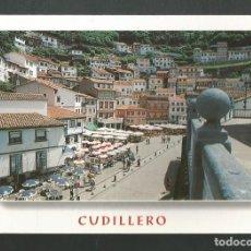 Postales: POSTAL CIRCULADA - CUDILLERO 536 - ASTURIAS - EDITA ESCUDO DE ORO. Lote 211906322