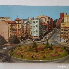 Postales: OVIEDO ASTURIAS PLAZA DE AMERICA POSTAL. Lote 212469110