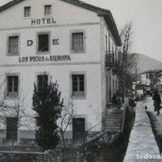 Postales: ARENAS DE CABRALES-HOTEL DE LOS PICOS DE EUROPA-AGAPITO FOTOGRAFICA-POSTAL ANTIGUA-(73.290). Lote 212719351