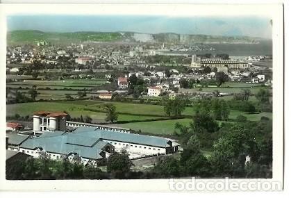 ANTIGUA POSTAL 175 GIJON VISTA PARCIAL AL FONDO CAMPA TORRES EDICIONES ARRIBAS (Postales - España - Asturias Moderna (desde 1.940))