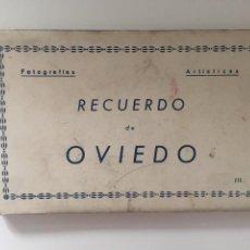 Postales: OVIEDO - LIBRITO DE 10 POSTALES - Nº III ED. ARRIBAS. Lote 215086303