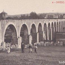 Postales: LOS PILARES - OVIEDO (ASTURIAS) - FOTOTIPIA THOMAS - BARCELONA. Lote 215675963