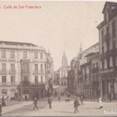 Postales: OVIEDO (ASTURIAS) - CALLE DE SAN FRANCISCO. Lote 215694207