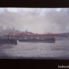 Postales: RIBADESELLA - CLICHE ORIGINAL - NEGATIVO EN CELULOIDE - AÑOS 1910-20 - FOTOTIP. THOMAS, BARCELONA. Lote 215987563