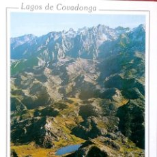 Postais: LAGOS DE COVADONGA. 322 VISTA GENERAL. EXCLUSIVAS MORO. NUEVA. COLOR. Lote 216752937