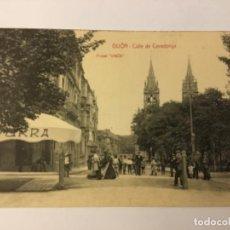 Postales: GIJON. CALLE DE COVADONGA. (POSTAL VINK). Lote 217528356
