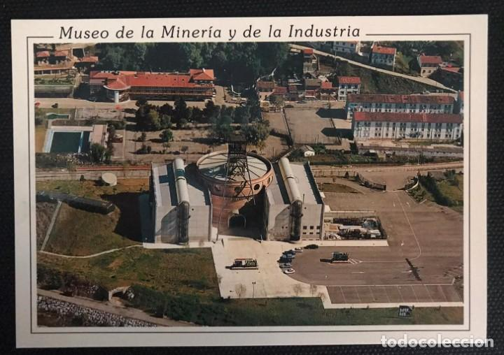 POSTAL MUSEO DE LA MINERÍA Y DE LA INDUSTRIA - SELLO DE ORO Nº 367 - ASTURIAS (Postales - España - Asturias Moderna (desde 1.940))