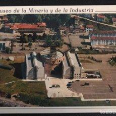 Postales: POSTAL MUSEO DE LA MINERÍA Y DE LA INDUSTRIA - SELLO DE ORO Nº 367 - ASTURIAS. Lote 217690981