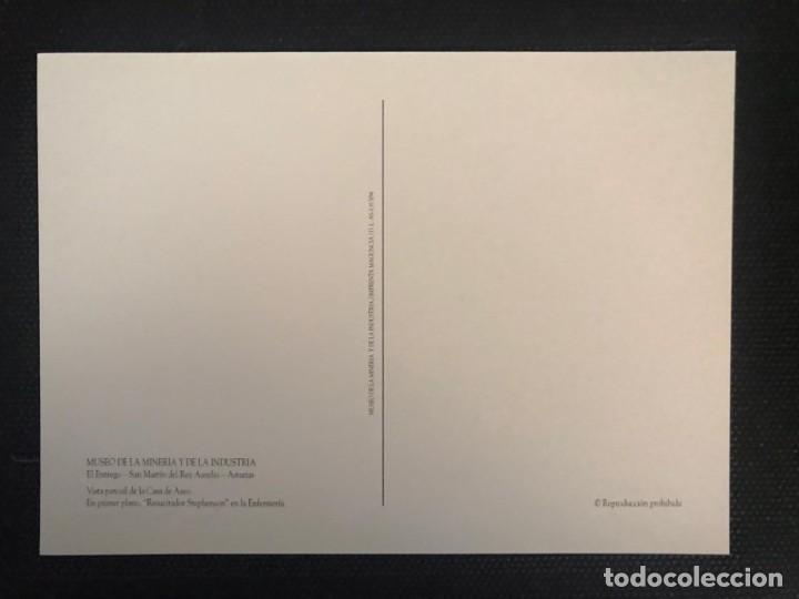 Postales: POSTAL MUSEO DE LA MINERÍA Y DE LA INDUSTRIA - EDICIONES MAGUNCIA/D.L.AS-1.813/94 - ASTURIAS - Foto 2 - 217691913