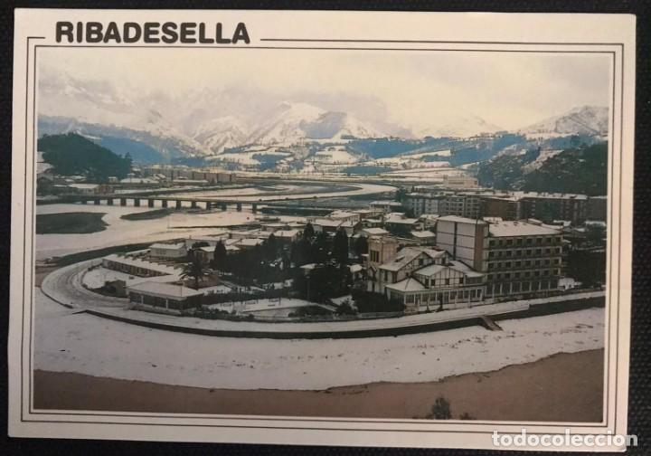 POSTAL RIBADESELLA - EDICIONES ALARDE Nº 117- ASTURIAS (Postales - España - Asturias Moderna (desde 1.940))