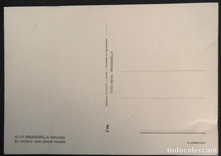 Postales: POSTAL RIBADESELLA - EDICIONES ALARDE Nº 117- ASTURIAS - Foto 2 - 217694875