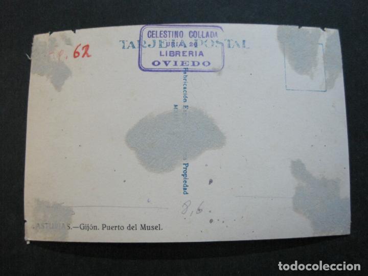 Postales: GIJON-PUERTO DEL MUSEL-FOTOGRAFICA-POSTAL ANTIGUA-(74.011) - Foto 3 - 217858272