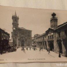 Cartes Postales: OVIEDO PLAZA DE LA CONSTITUCIÓN. Lote 218183880