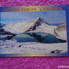 Postales: PICOS DE EUROPA LAGO ENOL 256 FISA ESCUDO DE ORO LA POSTAL DE LA AMISTAD SIN USO. Lote 218483862
