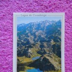 Postales: PICOS DE EUROPA LAGOS DE COVADONGA 322 FISA ESCUDO DE ORO 1996 LA POSTAL DE LA AMISTAD SIN USO. Lote 218499997