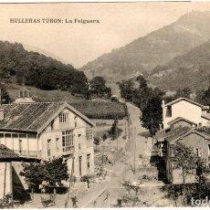 Postales: BONITA POSTAL - ASTURIAS - HULLERAS TURON - LA FELGUERA. Lote 219538766