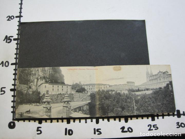 Postales: ASTURIAS-COVADONGA-VISTA PANORAMICA-DOBLE-THOMAS-POSTAL ANTIGUA-(74.543) - Foto 6 - 220527086