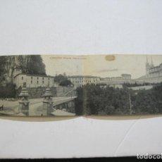 Postales: ASTURIAS-COVADONGA-VISTA PANORAMICA-DOBLE-THOMAS-POSTAL ANTIGUA-(74.543). Lote 220527086