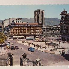 Cartes Postales: 10.OVIEDO/ PL.DEL GENERALISIMO Y CALLE DE URÍA/ SIN CIRCULAR/ (REF.D.128). Lote 220809103