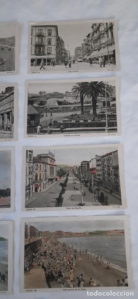 Postales: 9 Postales de GIJÓN - Foto 4 - 220896228