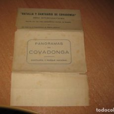 Postales: PANORAMAS DE COVADONGA. Lote 221603957