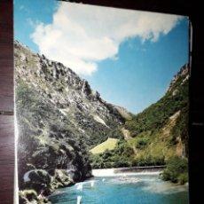 Postales: Nº 39350 POSTAL ASTURIAS RIO CARES POZO SALMONERO NISERIAS. Lote 221633483