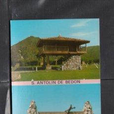 Postales: LLANES. SAN ANTOLIN DE BEDON. Lote 221657536