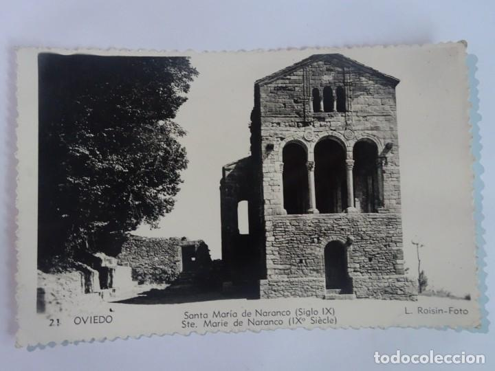 ANTIGUA POSTAL FOTOGRÁFICA, OVIEDO, SANTA MARÍA DE NARANCO, VER FOTOS (Postales - España - Asturias Moderna (desde 1.940))