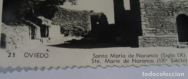 Postales: ANTIGUA POSTAL FOTOGRÁFICA, OVIEDO, SANTA MARÍA DE NARANCO, VER FOTOS - Foto 2 - 222095833